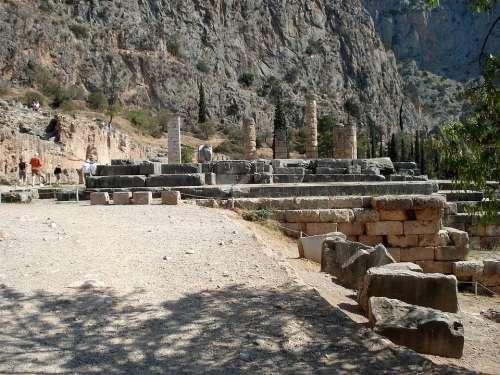 Delphi Greece Oracle Central Greece
