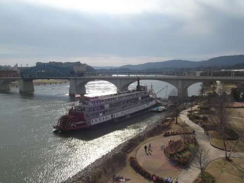 Delta Queen Tennessee Chattanooga River Riverboat