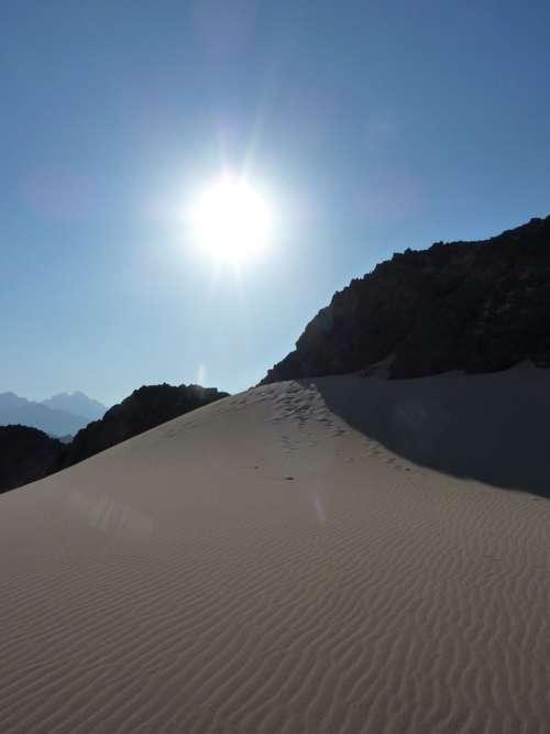 Desert Egypt Sun Sand Dune