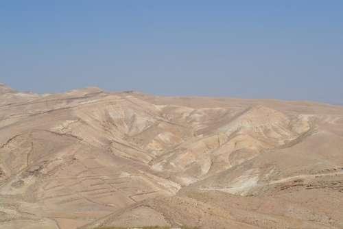 Desert Israel Sand Dunes Dune