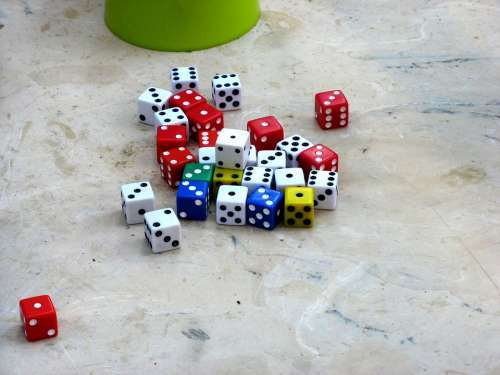 Dice Toy Game Casino Chance Luck Risk Cube