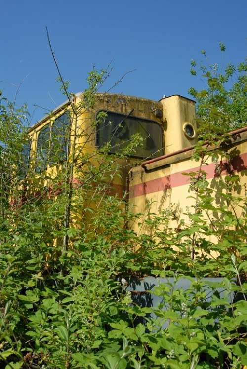 Diesellock Lock Train Retired Turned Off Old