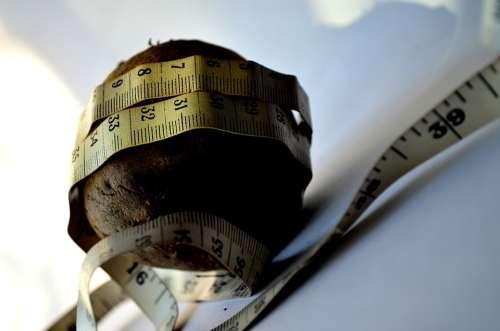 Diet Beetroot Measure Tape Vegetables Size Food