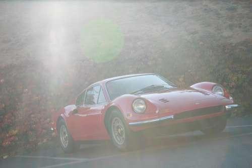Dino Ferarri Car Automobile Sports Car Classic Car