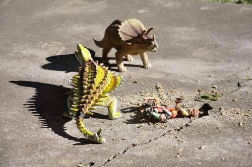 Dinosaur Dino Fantasy Monster Toy Attack Danger