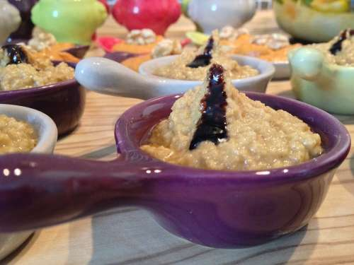 Dip Eat Culinary Porridge Ceramic Chunks Starter