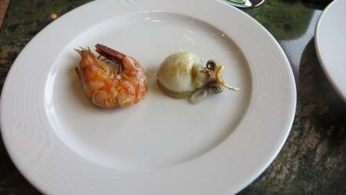 Dish Gourmet Calamari Dinner