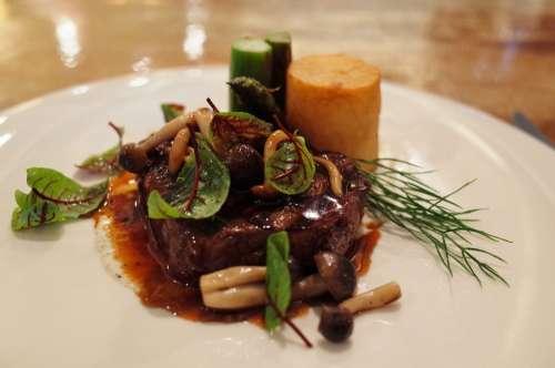 Dish Steak Food Plate Grill Meat