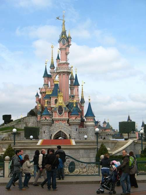 Disneyland Castle Fantasy Children Tourism