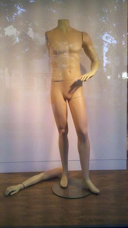 Display Dummy Window Decoration Doll