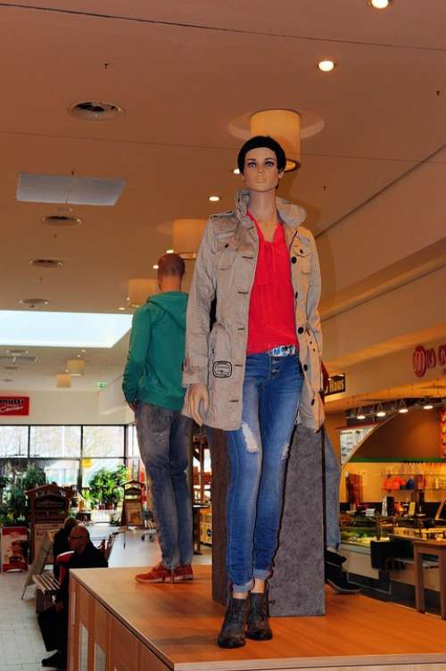 Display Dummy Fashion Jeans Pants Clothing