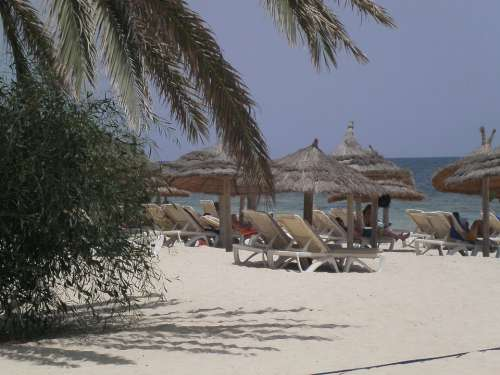 Djerba Vacations Beach Sea Holidays Coast Tunisia