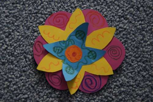 Do It Yourself Handicraft Flower Tinkered Child
