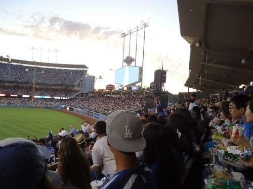 Dodgers Baseball Stadium Baseball Stadium