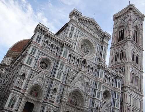 Dom Florence Italy Tuscany Campanile Renaissance