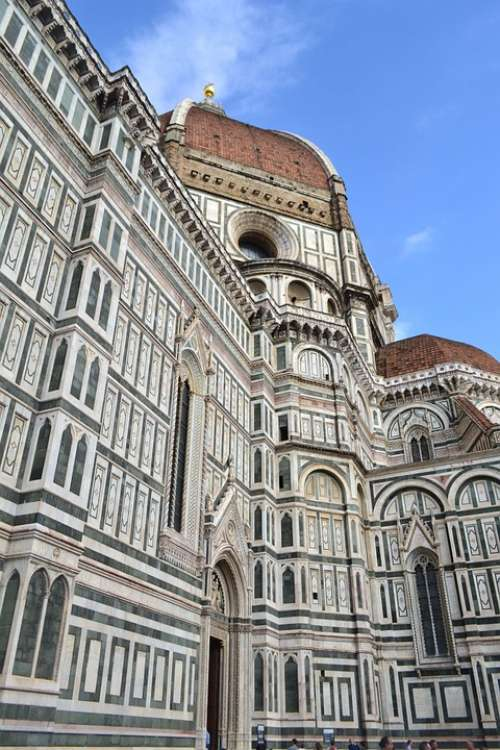 Dome Of Florence Florence Cathedral Italy Church