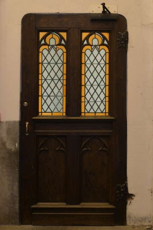 Door Port Stained Glass Windows