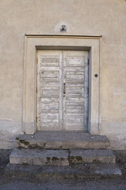 Door Old Wall Worn