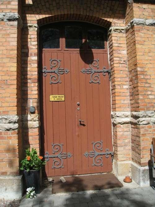 Door Building Seizure Brick Summer