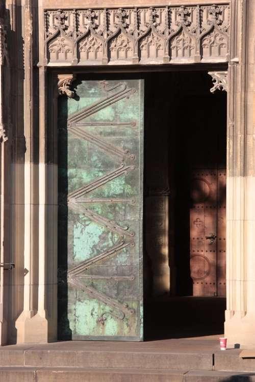 Door Church Old Architecture Religion Vintage