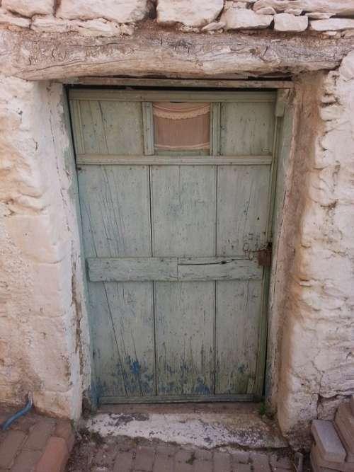 Door Old Antique Entrance Wood Architecture