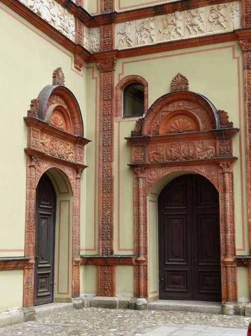 Door Goal Portal House Entrance Doors Old