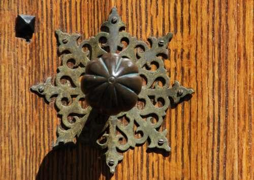 Door Handle Door Door Lock Doorknocker Brass Metal