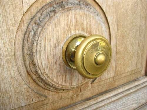 Door Knob Drawer Button Wood Cabinet Furniture