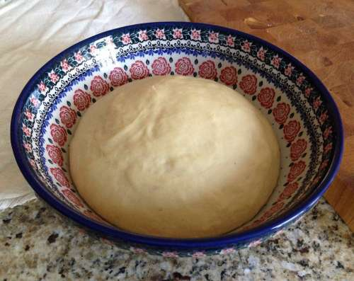 Dough Baking Bowl Bread Cooking Food