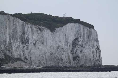 Dover White Cliffs Cliffs Sea Coast Path England