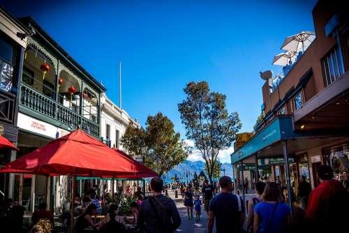 Downtown Queenstown New Zealand Buildings