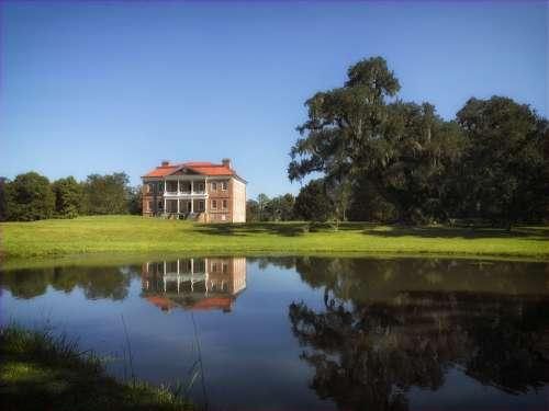 Drayton Hall South Carolina Plantation House Home