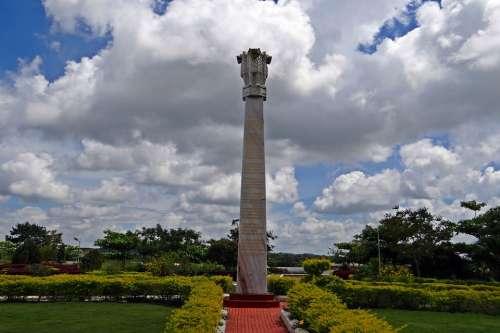 Drepung Gomang Monastery Ashoka Pillar