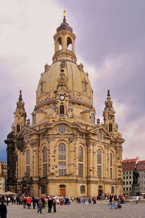 Dresden Architecture Historic Center Frauenkirche