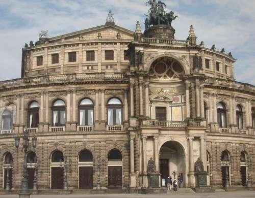 Dresden Opera Building