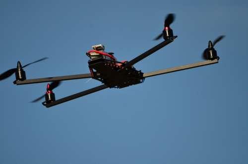 Drone Flying Object Warthox Fquad Flyduino X 2208