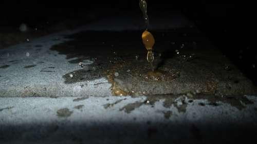 Drops Liquid Droplets Dropping Splash Fluid Wet