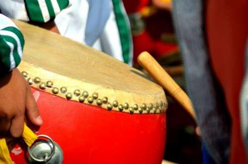 Drum Beat Beating Play Music Musical Instrument