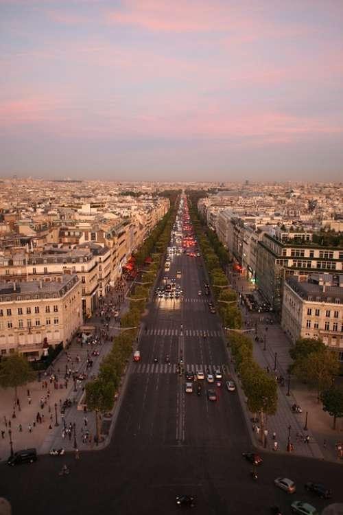 Dss Elysian Fields Avenue Paris France City