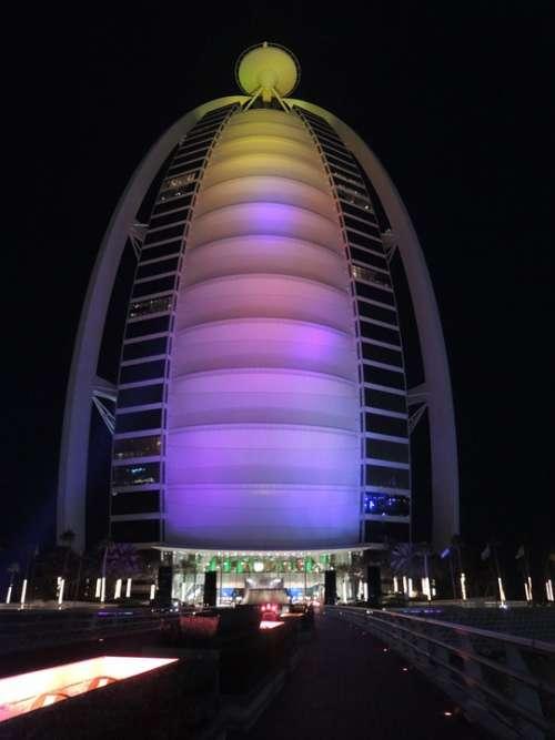 Dubai Uae Emirates Emirate Desert Burj Al Arab