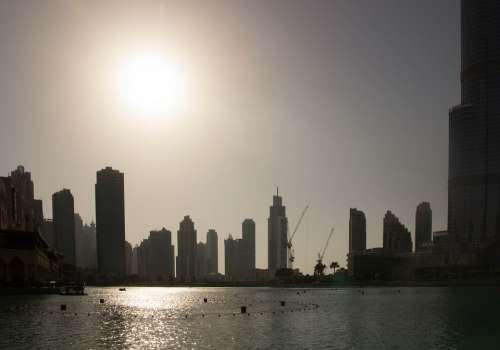 Dubai Skyscraper City U A E Skyline Building
