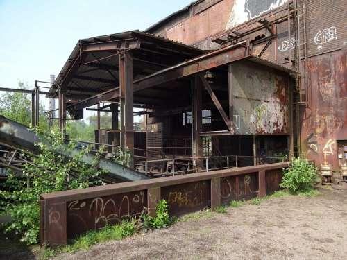 Duisburg Factory Building Park Factory Ruhr Area