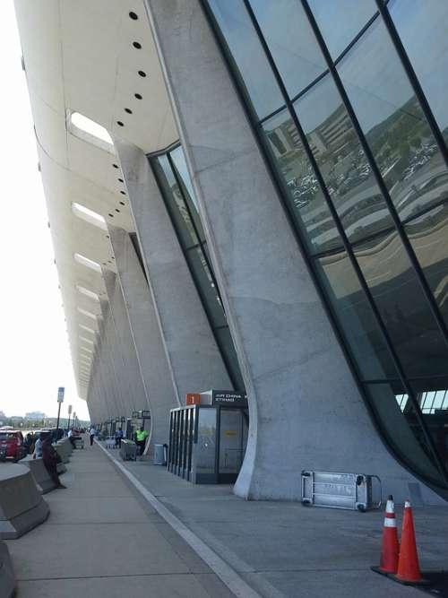 Dulles Airport Terminal Flying Flight Air Travel