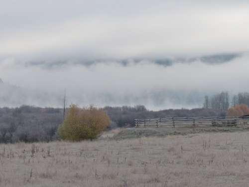 Early Morning Sunrise Clouds Canim Lake