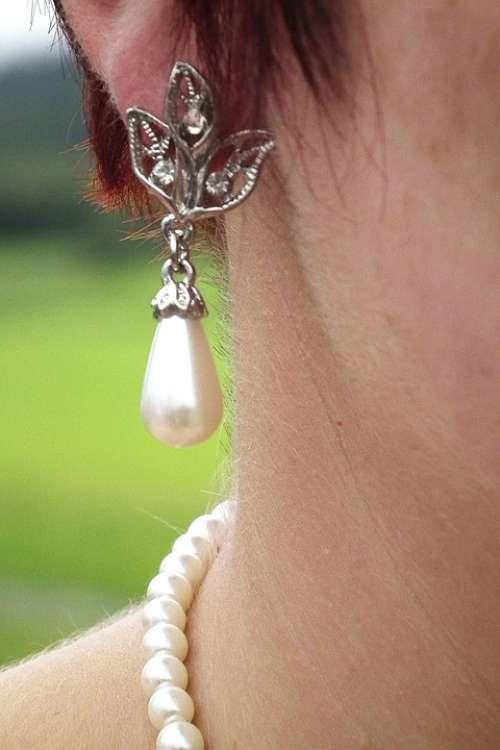 Earring Ear Jewellery Beads Earrings Bling