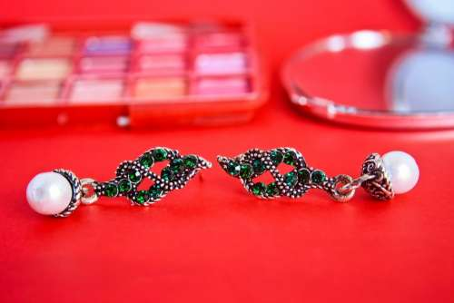 Earrings Beauty Women Jewelry Fashion Glamour