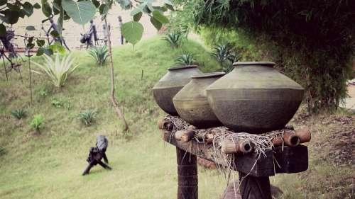 Earthen Jars Jars Old Ancient History