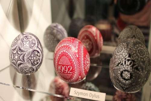 Eggs Easter Eggs Christmas Ornaments Ornaments