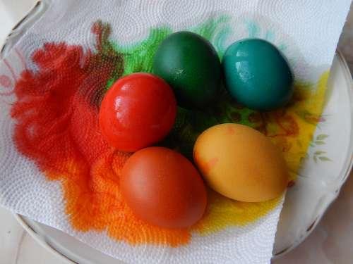 Eggs Painting Easter Eggs