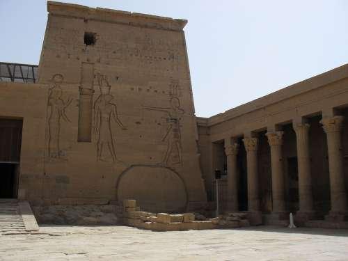 Egypt Temple Nile